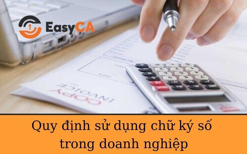 Sử dụng chữ ký số trong doanh nghiệp